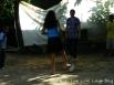 Jugando futbol con los niños, obvio q me ganaron jajaja